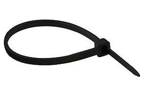 Abracadeira Nylon 2,5mm X 200mm Preta