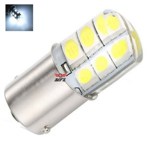 Lampada 12 Led Siliconada Bay15d 2 Polo P21/5w 1157 1034 Branco 12v
