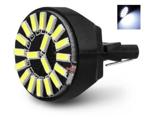 Lampada T20 Cambus 19 Led 1 Polo 7440 W21w Branco 12v