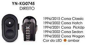 INTERRUPTOR VIDRO DIREITO CORSA CLASSIC 96/15, HATCH 94/02