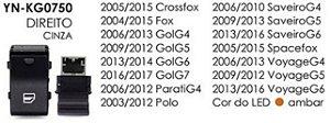 INTERRUPTOR VIDRO DIREITO CROSSFOX 05/15, FOX 04/15