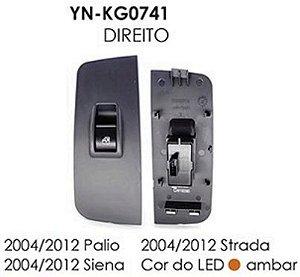 INTERRUPTOR VIDRO DIREITO PALIO 04/12, SIENA 04/12