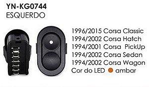 INTERRUPTOR VIDRO ESQ CORSA CLASSIC 96/15, CORSA HATCH 94/02