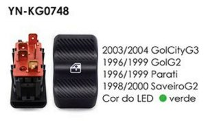 INTERRUPTOR VIDRO GOLCITYG3 03/04, GOLG2 96/99, PARATI 96/99