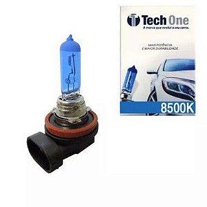 Lampada Super Branca H8 8500k Xenon 12v 35w Techone (unidade)
