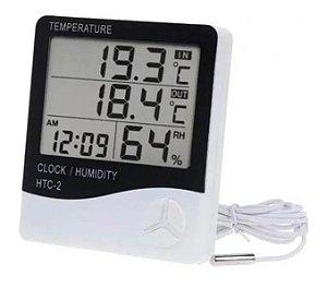 Termometro Higrometro Digital 3 Digitos HTC-2