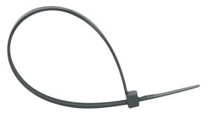 Abracadeira Nylon 5mm x 250mm Preta