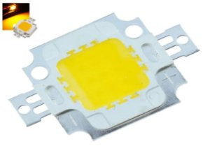 Chip Super Power Led 10w 9v-12v Amarelo