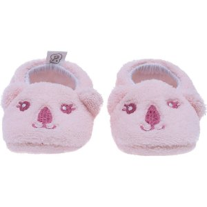 Pantufa Baby Tamanho Único Rosa Coala - Pimpolho