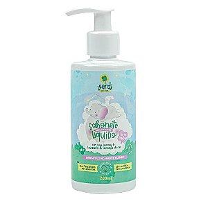 Sabonete Líquido e Shampoo Infantil Relaxante Com Óleos Essenciais de Lavanda e Laranja Doce - Verdi Natural