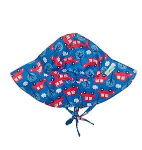 Chapéu de Banho Infantil Com FPS 50+ Carros - Ecoeplay
