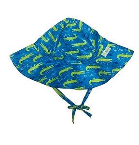 Chapéu de Banho Infantil Com FPS 50+ Jacaré - Ecoeplay