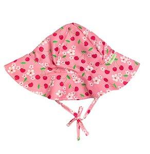 Chapéu de Banho Infantil Com FPS 50+ Cereja - Ecoeplay
