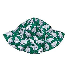 Chapéu de Banho Infantil Com FPS 50+ Urso Branco - Ecoeplay