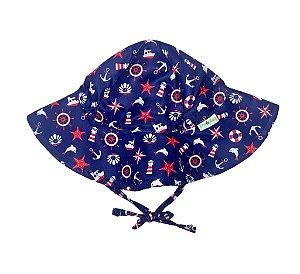 Chapéu de Banho Infantil Com FPS 50+ Alto Mar - Ecoeplay