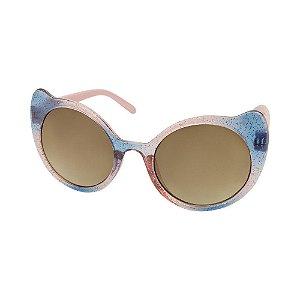 Óculos de Sol Infantil Tamanho Único UV 400 Rosa Gatinha - Pimpolho