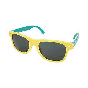 Óculos de Sol Infantil Tamanho Único UV 400 Amarelo Verde - Pimpolho