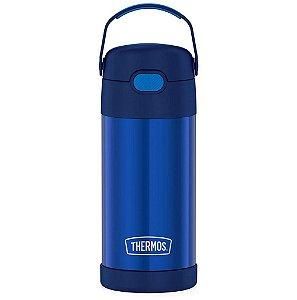 Garrafinha Thermos FOOGO 355 mL Azul - Thermos FOOGO