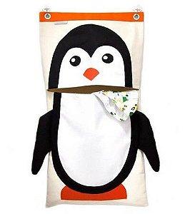Saco Para Roupas Sujas Pinguim - O Sapo e a Princesa