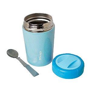 Pote Térmico Premium Com Colher 420 ml - Clingo