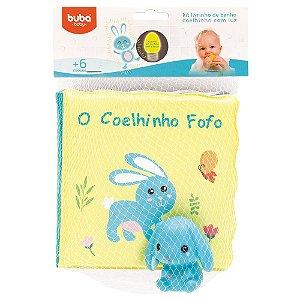 kit Livrinho de Banho Buba - O Coelhinho Fofo