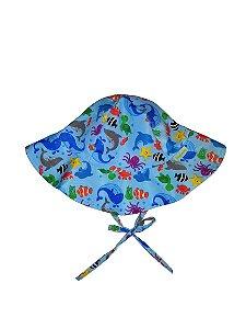 Chapéu de Banho Infantil FPS 50+ Fundo do mar - Ecoeplay