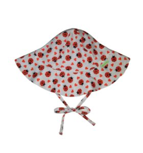 Chapéu de Banho Infantil FPS 50+ Joaninha - Ecoeplay