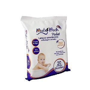 Lenços Umedecidos Pocket - Baby Bath
