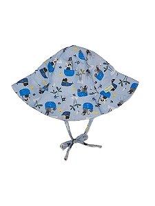 Chapéu de Banho Infantil Com FPS 50+ Tapa Olho - Ecoeplay