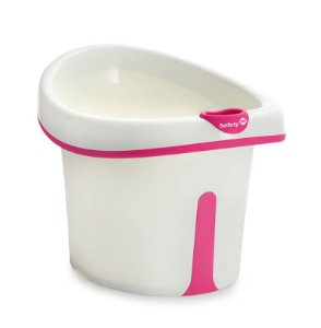Banheira Bubbles Para Crianças de 1 a 3 anos Rosa - Safety
