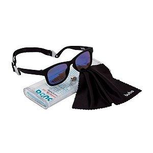 Óculos de Sol Baby Com Alça Ajustável Preto - Buba