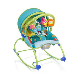 Cadeira de Descanso Bouncer Sunshine Baby Azul - Safety