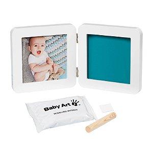 Porta Retrato Com Molde My Baby Touch White - Baby Art