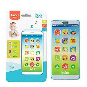 Baby Phone Celular musical Azul - Buba