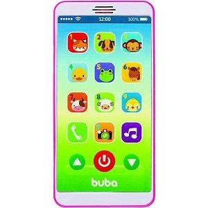 Baby Phone Musical Rosa - Buba