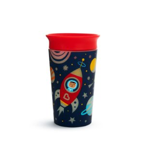 Copo de Treinamento 360 Miracle Cup Glow Astronauta 270 ml - Munchkin