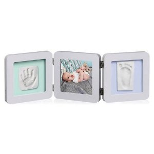Porta Retrato Com Molde Duplo My Baby Touch Pastel  - Baby Art