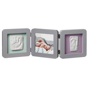Porta Retrato Com Molde Duplo My Baby Touch Pastel Rosê - Baby Art