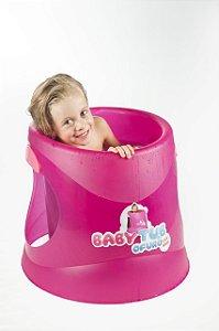 Banheira Ofurô Rosa Cristal 1 a 6 anos - Baby tub
