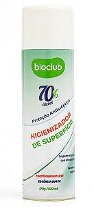 Higienizador Para Roupas e Superfícies Álcool 70 Spray 300 ml (Proteção Antisséptica) - Bioclub