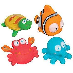 Bichinhos Para a Hora do Banho Oceano - Buba Baby