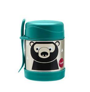 Pote Térmico Inox Com Talher Urso - 3 Sprouts