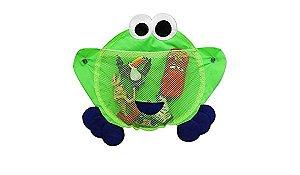 Organizador Para Brinquedos de Banho Sapinho Azul - O sapo e a princesa
