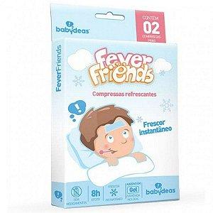 FEVER FRIENDS - Compressas Refrescantes Para Alívio da Febre - Babydeas