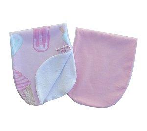 Kit Com 2 Panos de Ombro Atoalhados - Colo de Mãe