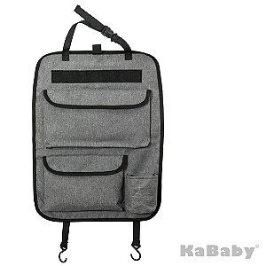 Organizador Para Banco do Carro Com Suporte Para Tablet Destacável - Kababy