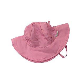 Chapéu de Banho Infantil Com FPS 50+ Rosa Claro - Ecoeplay