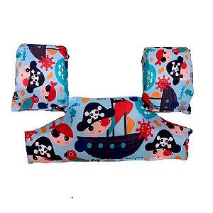 Bóia Colete Infantil Salva Vidas Piratinha - Ecoeplay