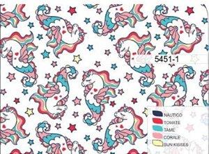 Toalha Infantil Gigante Unicórnio Colors - Colo de Mãe