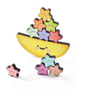 Brinquedo Educativo Equilibrando Estrelinhas - Babebi